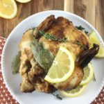 Slow Cooker Lemon Thyme Chicken