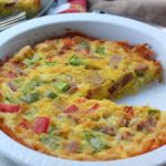 Ham and Hash Brown Egg Bake: Paleo & Whole30!