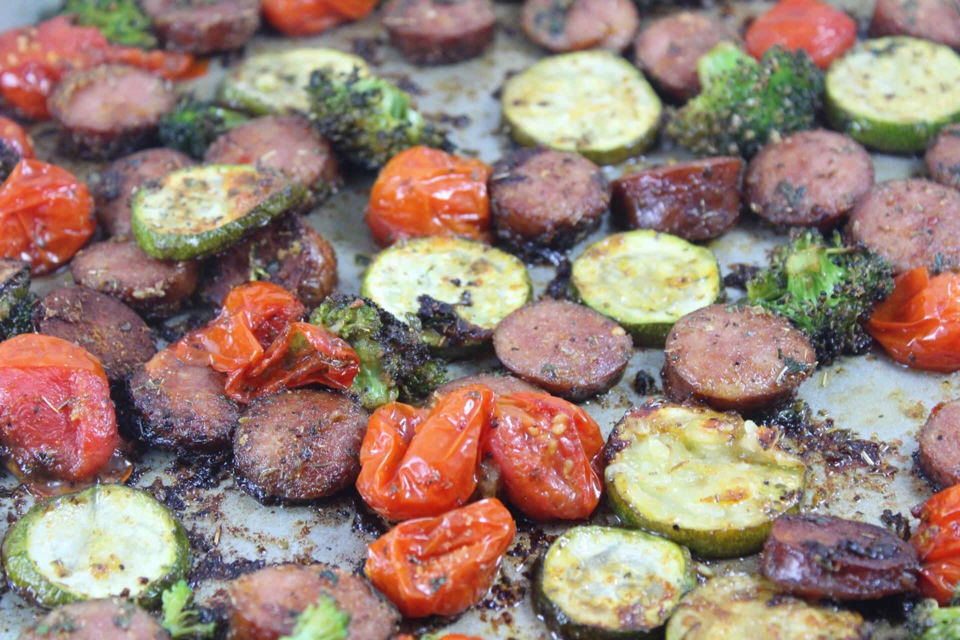 One Pan Sausage and Veggies: Paleo & Whole30