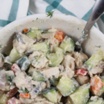 Cucumber Dill Chicken Salad: Paleo & Whole30