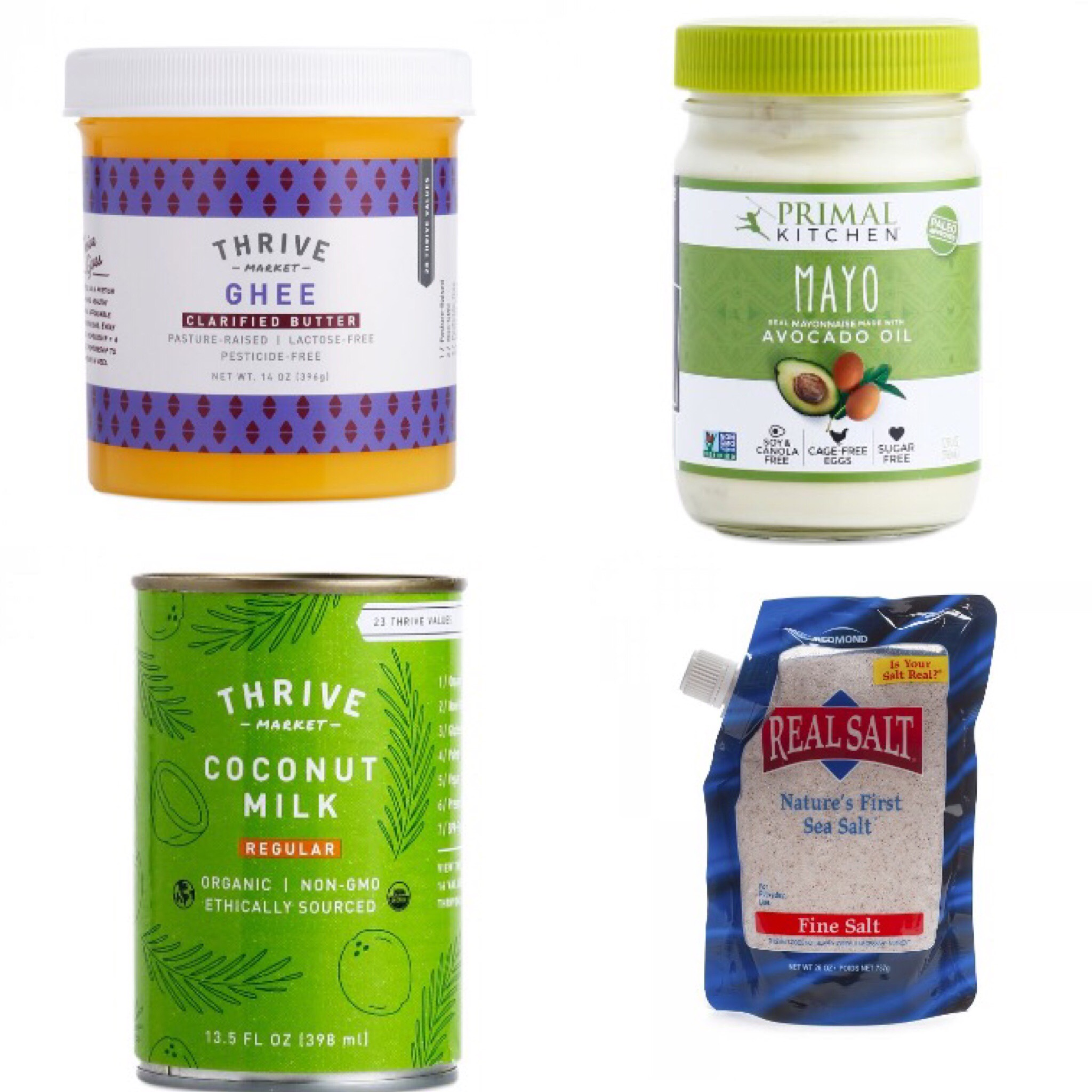 thrive market whole30 staples
