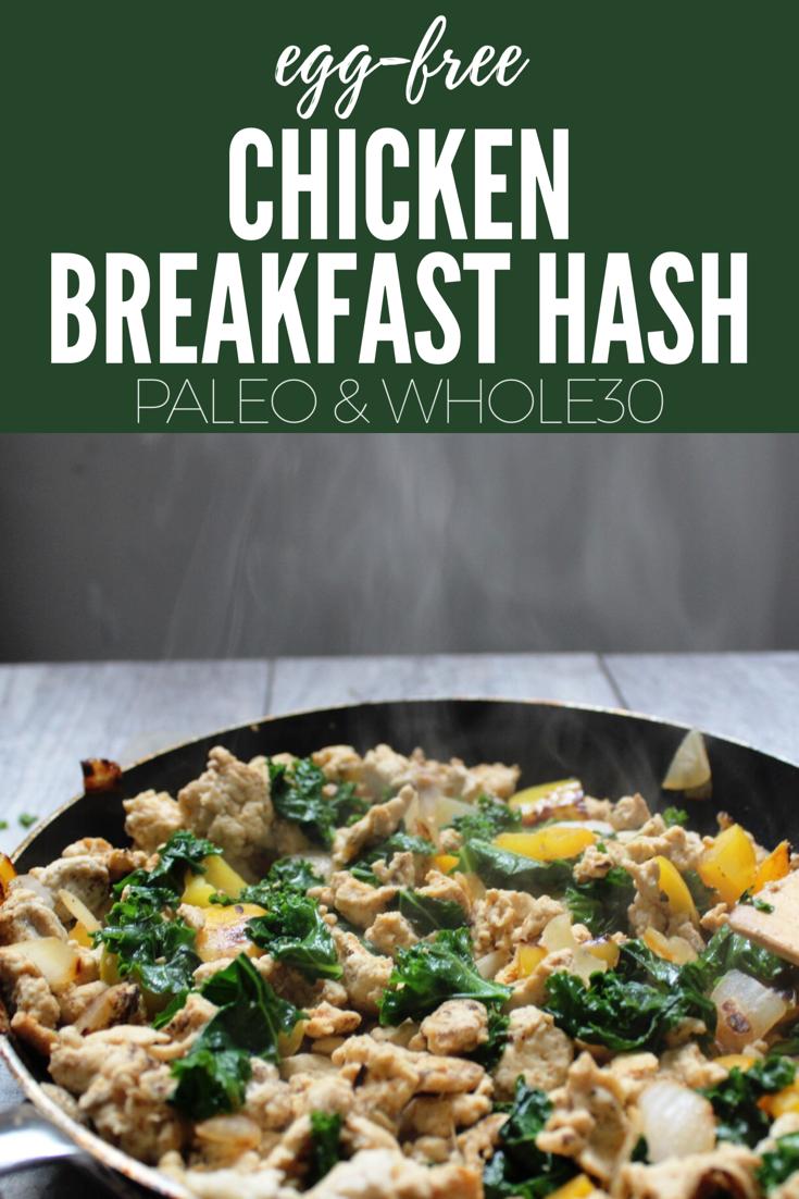 paleo chicken breakfast hash