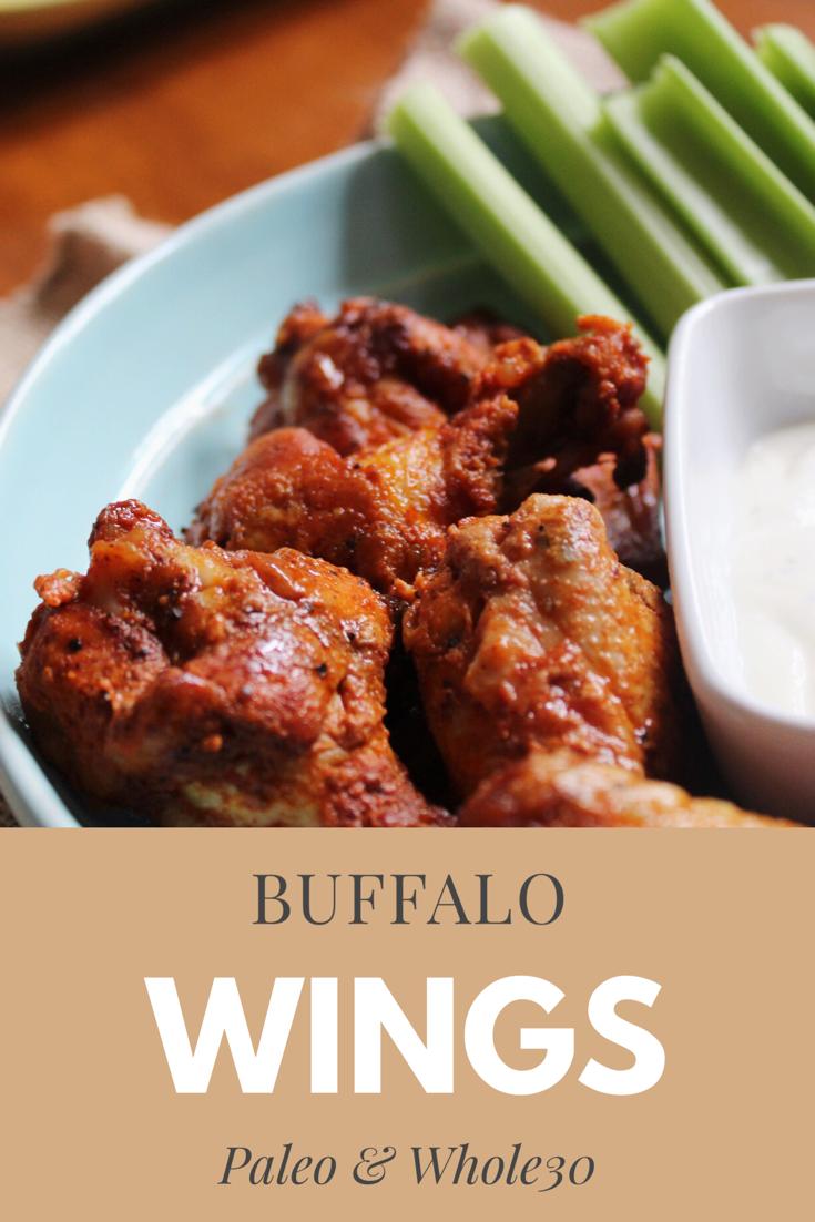 paleo buffalo chicken wings