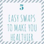 5 Easy Swaps to Make You Healthier