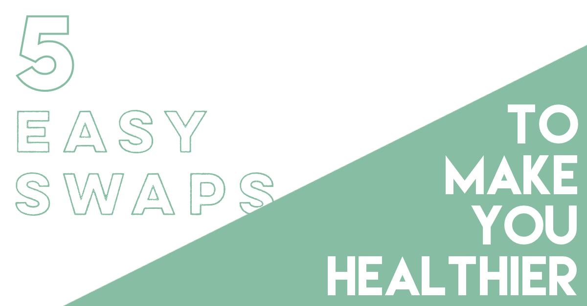paleo swaps to make you healthier