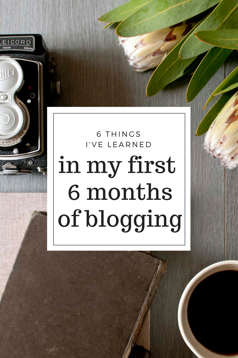 6 things I've learned blogging