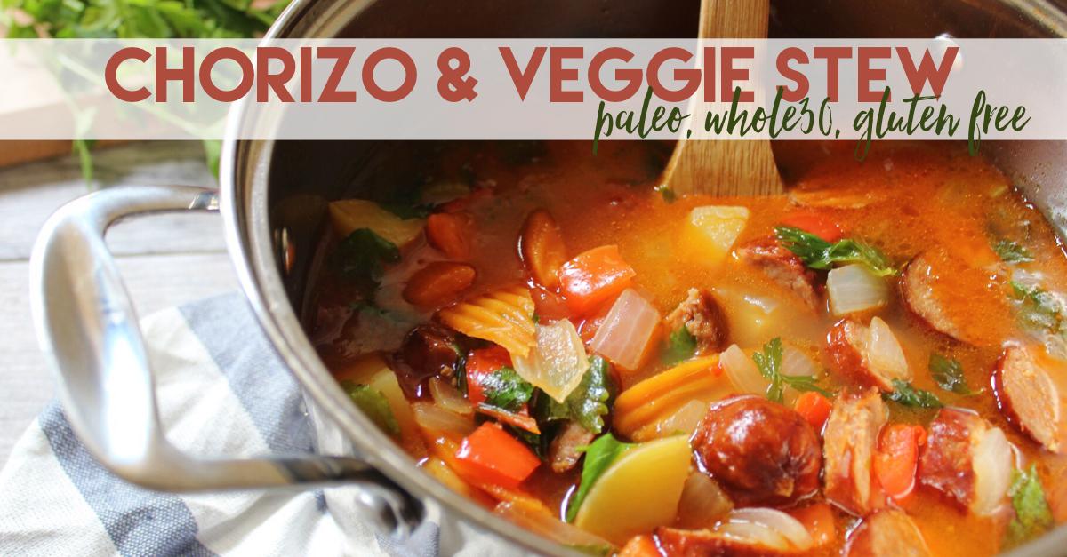 chorizo and veggie stew