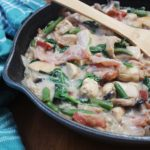 one pot creamy chicken and veggies
