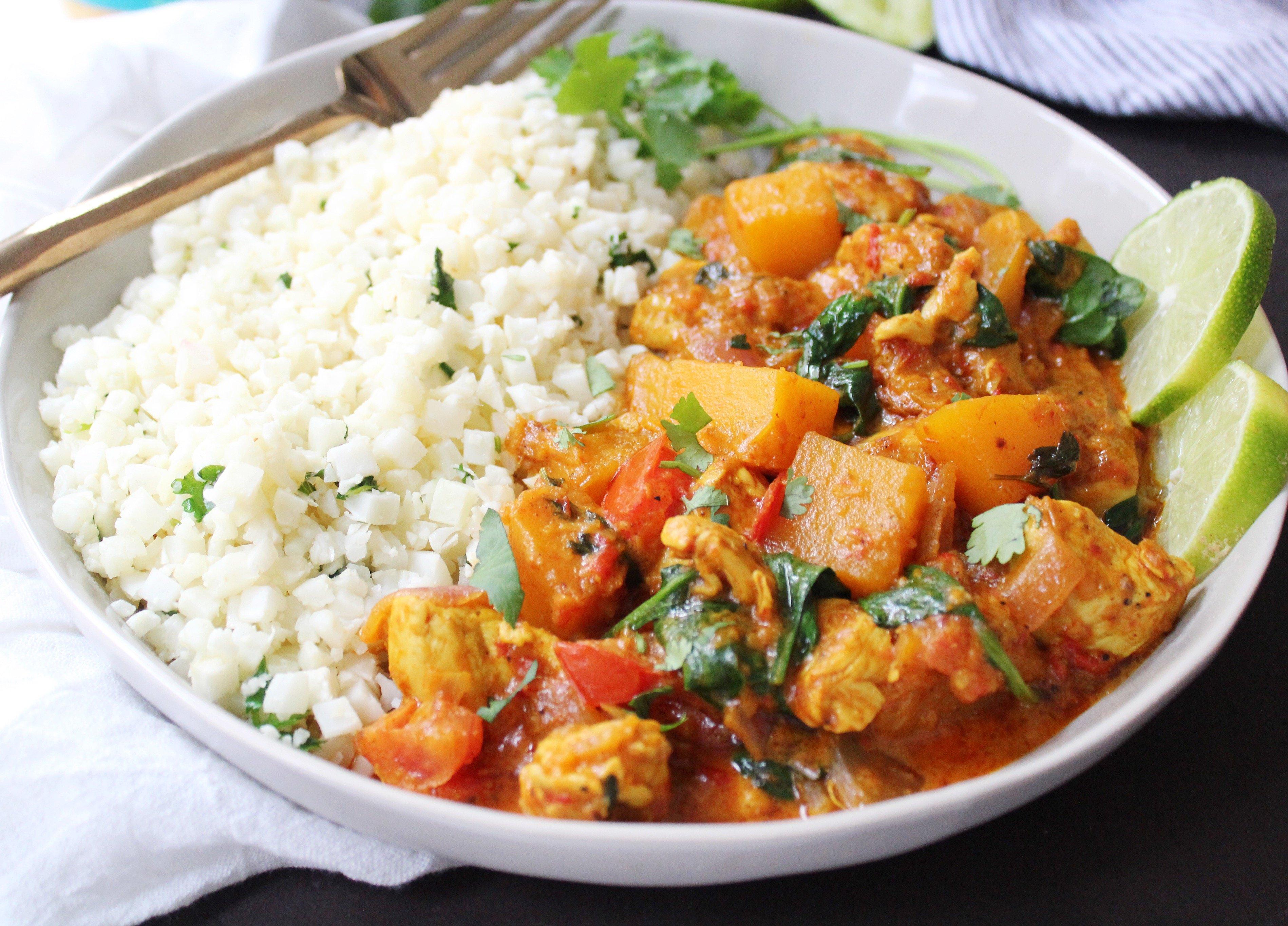 Butternut Squash Curry: 20 Minute Dinner