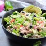 Mexican Chopped Tuna Salad: No Cooking, Paleo, Whole30, Low-Carb!