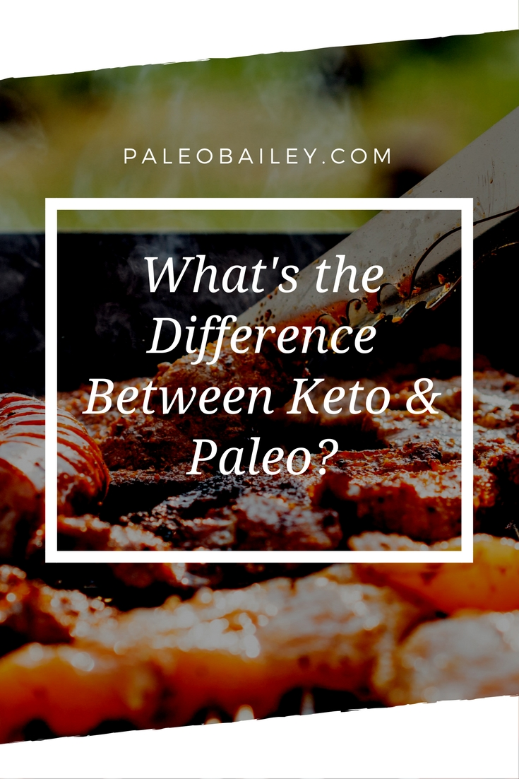 what's the difference between keto and paleo