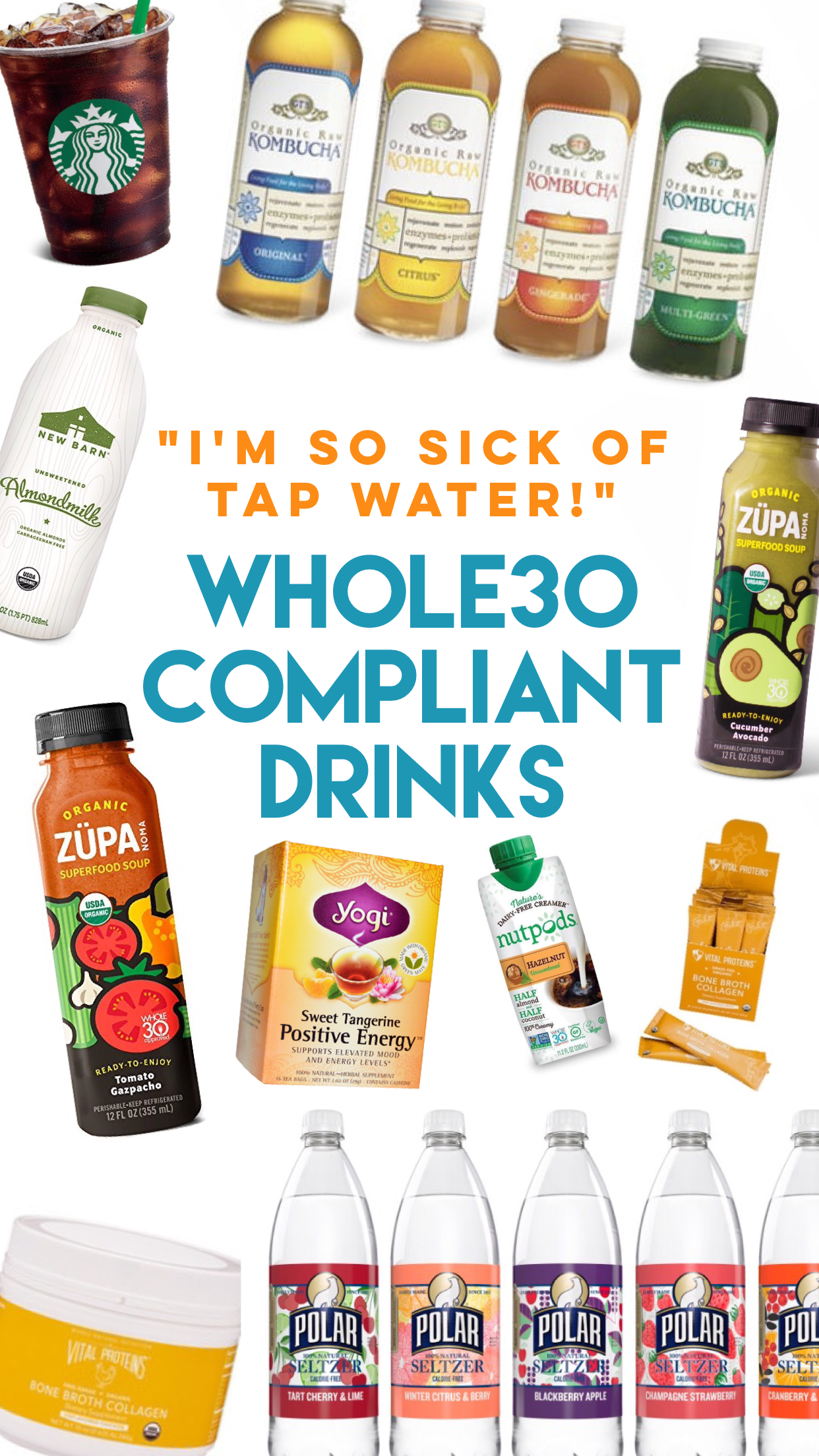 Whole30 compliant drinks