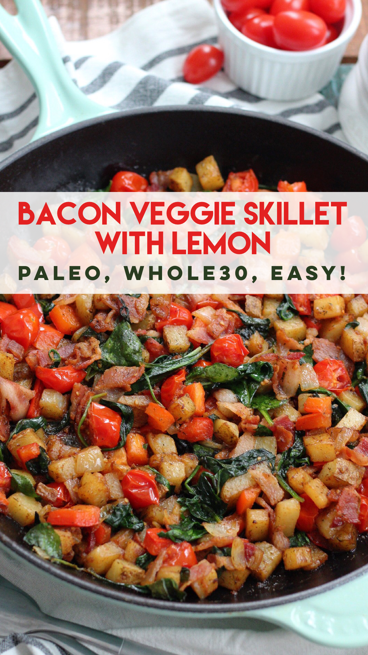 Bacon and veggie egg free paleo breakfast skillet whole30 easy bacon and veggie egg free paleo breakfast skillet paleo whole30 easy meal forumfinder Image collections