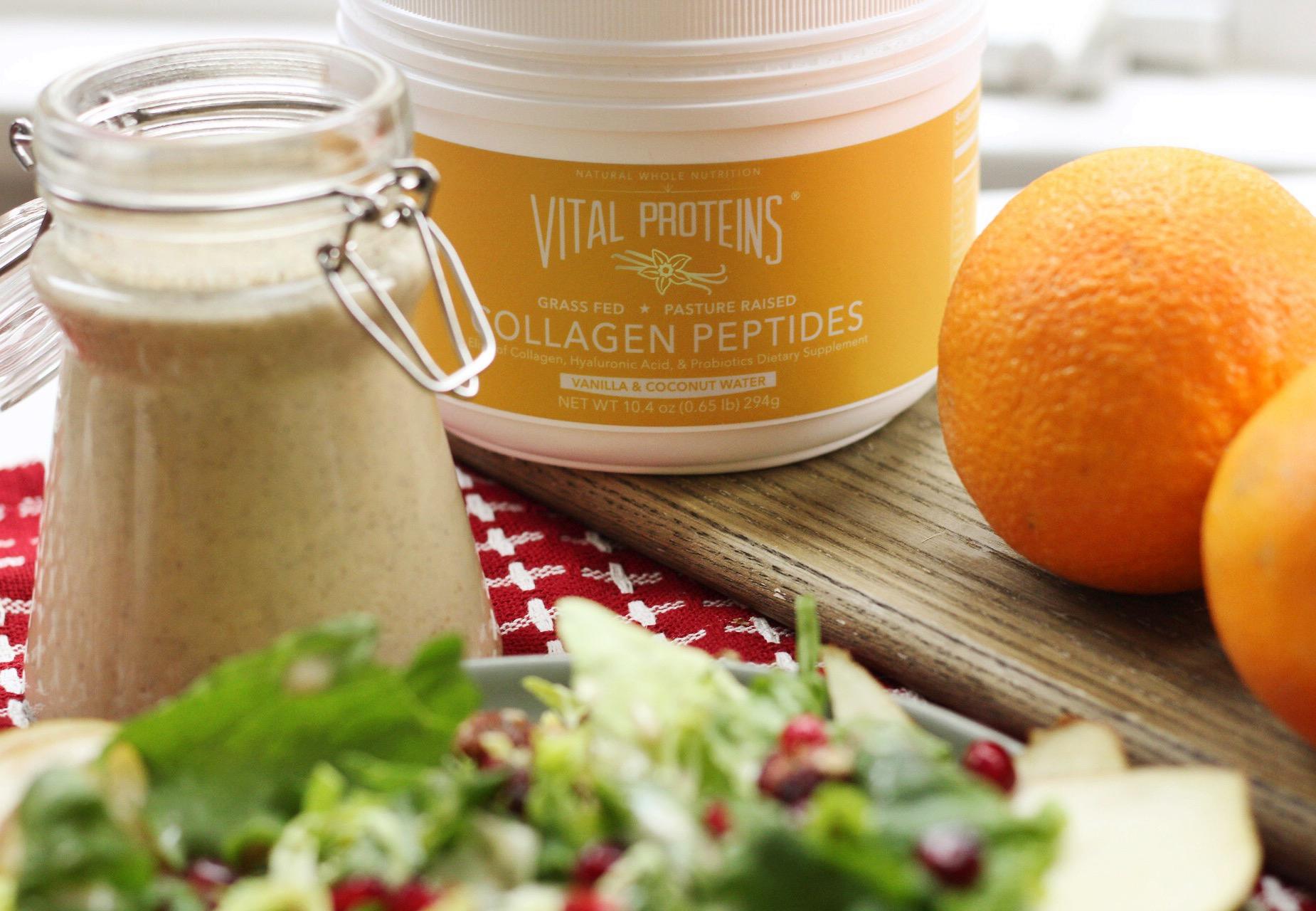 orange vanilla vinaigrette
