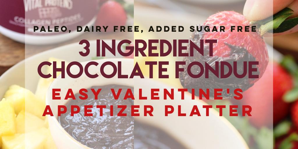 paleo chocolate fondue