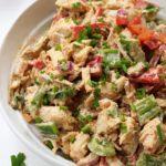 Taco Chicken Salad: Paleo, Whole30, Keto