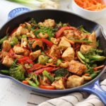 Paleo Cashew Chicken: Whole30, One Pan, 30 Minutes