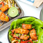 Whole30 Sheet Pan Fish Fajitas (Paleo + Gluten Free)