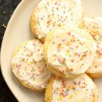 Soft Paleo Sugar Cookies (Gluten Free, Dairy Free)